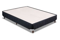 Cama Box Orthocrin Sommier Plus Black